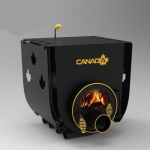 Печь калориферная Canada 00 с варочной поверхностью S