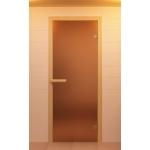 Двери Sauna Market 70x190 Матовая бронза