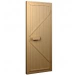Двери для сауны деревянные ALDO 80х180 (Ласточкин хвост)