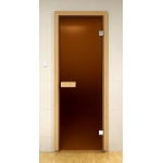 Двери Sauna Market 80x210 Бронза