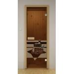 Двери для сауны ALDO 80х200 (Банный день)
