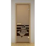 Двери для сауны ALDO 80х200 (Банный вечер)