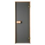 Двери для бани Saunax Эстония 70х190 Матовая бронза